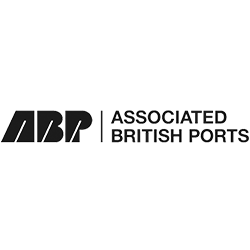 Associated British Ports black and white logo