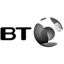 Logo of client BT