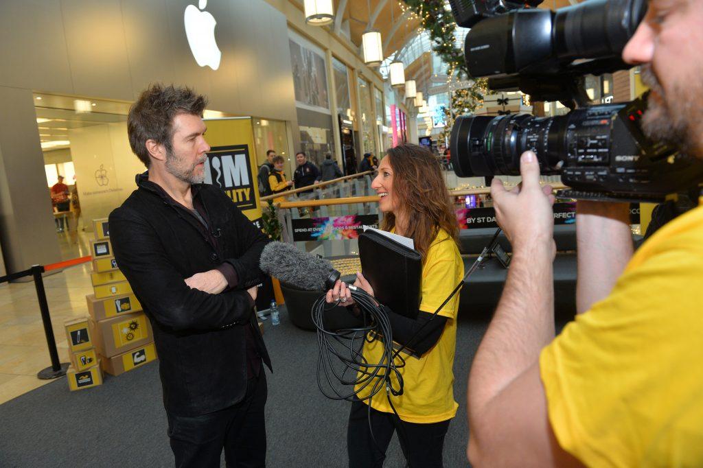 Rhod Gilbert interviewed by Carolyn