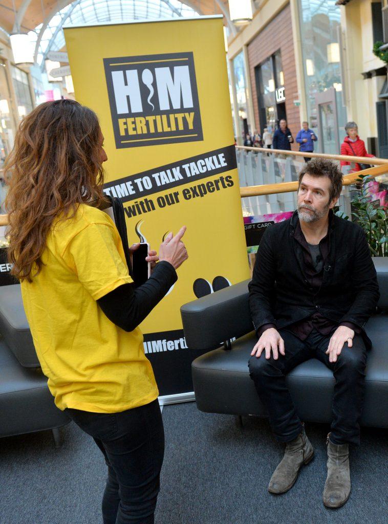 Carolyn and Rhod in Cardiff