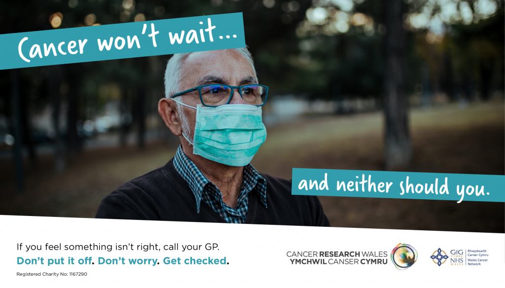 Cancer Research Wales - Get Checked graphic